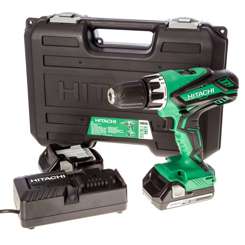 Hitachi Cordless Combi Drill
