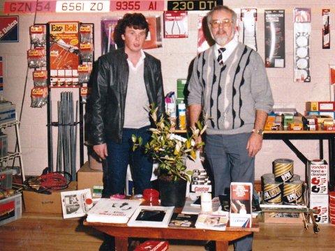 Matt Ton Trade Show 1984
