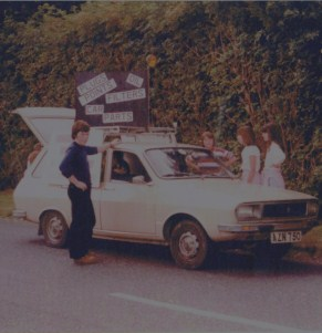 Tony On Show Day 1982
